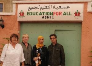 Sallie,Jane Latifa and Jaouad