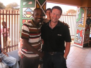 Nigel right with Chris in South Africa