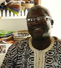 Adama - at home in The Gambia