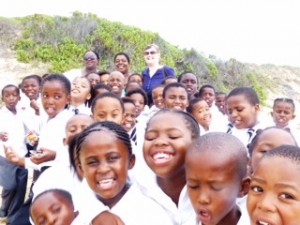 South Africa - school outing with volunteer Shan